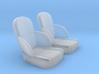 1/32 50s Sport Seat Pair 3d printed