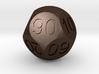 D Percent Sphere Dice 3d printed