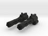 Action Figure Gatling Guns 3d printed