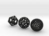 Geodesic spheres 3d printed