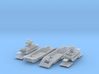 1-148 2x Pz-Tr-W+ PzKpfw 38t For BP-42 3d printed