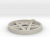 Simple Pentagram Pendant 3d printed