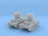 1-144 2x Basic PzKpfw 38t Ausf G 3d printed