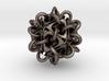 Tubed icosahedron 3d printed