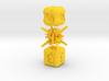 Elemental NonTransitive Dice 3d printed