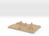 Pyramids Of Giza And Sphinx Model 3d printed