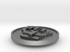 WCI Silver founders coin 3d printed