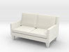 1:24 Contemporary Loveseat 3d printed