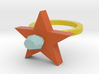 Scarlet Pimpernel Ring 3d printed