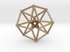 Toroidal Hypercube 50mm 2mm Time Traveller 3d printed