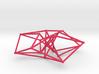 Toroidal Hypercube 80mm 1.5mm Time Traveller 3d printed