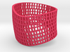 Twisted Cube cuff 3d printed
