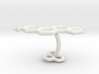 estrogen cufflinks 3d printed