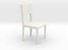 1:24 Curved Chair 3 3d printed