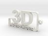 3D ARTRENDER LOGO KEYCHAIN 3d printed 3d artrender new keychain