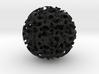 Odd ball Mathematical Art 5cm diameter 3d printed