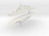 Maestrale frigate 1:2400 x2 3d printed