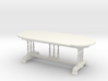 1:24 Old English Dining Table 3d printed