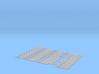O Scale Embossed HookPlate Num 10 Array 3d printed