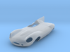 1/43 Jaguar Long Nose D Type 3d printed