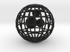 Caged beads 3d printed