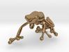 Frog_Pendant_Head 3d printed