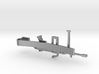 M249 SAW MONEY/TIE CLIP 3d printed