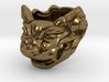 "Fu Dog (Komainu) ""a"" Ring 3d printed"