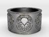 Ph'nglui mglw'nafh Cthulhu R'lyeh Ring #1, Size 12 3d printed