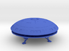 Diplomatic Shuttle Flying Saucer 3d printed