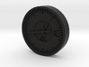 Aviation Button - Altimeter 3d printed