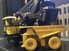 CAT 797B Mine Haul Truck 1:160 Scale 3d printed CAT Yellow