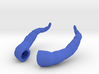 Dragon Horns: Miniatures For yosd & MSD Doll 3d printed