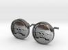 Attitude Indicator Cufflinks 3d printed