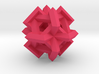 Cuboctahedron of Linked Frames 3d printed