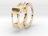 Weird Ring 3d printed