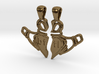 Claddagh Pendants 'Best Friends For Life' 3d printed