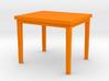 1:48 Rectangular Table 3d printed