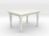 1:24 Farmhouse Dining Table 3d printed