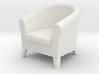 1:24 Club Chair 3d printed