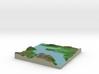 Terrafab generated model Mon Jan 20 2014 03:24:36  3d printed