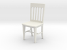1:24 Slat Chair 3d printed