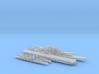 1/2400 Scale Never Were IJN Fleet 3d printed