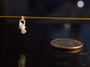 """1:48 Source Four 3d printed Hanging on 1/16"""" Brass Pipe"""