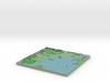 Terrafab generated model Wed Jan 22 2014 12:31:04  3d printed