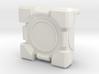 Companion Cube 2-parts 100x100 3d printed