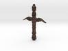 Tribal Cross 3d printed