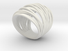 38mm Wide Wrap Ring Size 8 3d printed