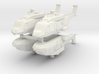 Eurocopter NH90 1:350 x4 (WSF) 3d printed