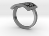 Tudor Rose Ring 3d printed